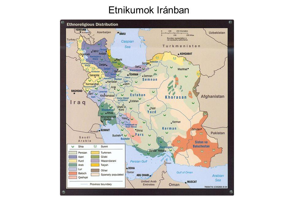 Etnikumok Iránban
