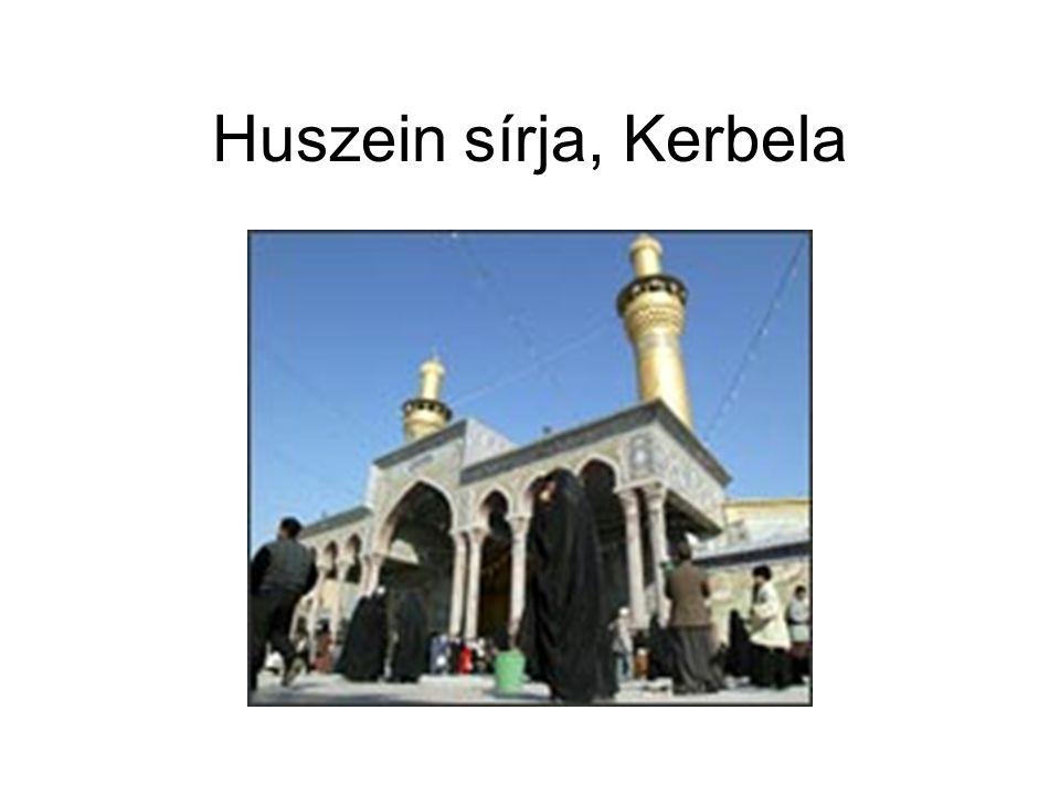 Huszein sírja, Kerbela