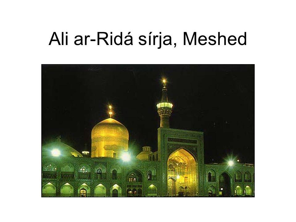 Ali ar-Ridá sírja, Meshed