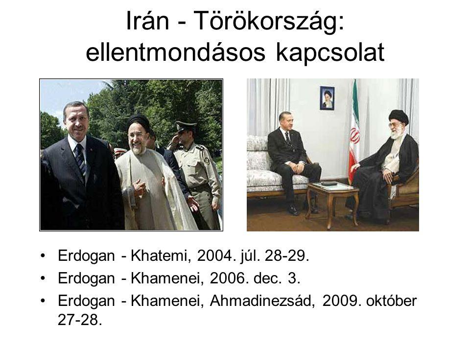 Irán - Törökország: ellentmondásos kapcsolat Erdogan - Khatemi, 2004.