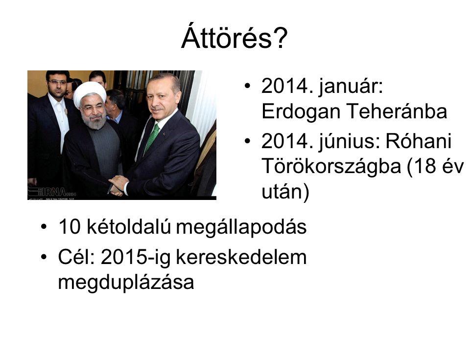 Áttörés. 2014. január: Erdogan Teheránba 2014.