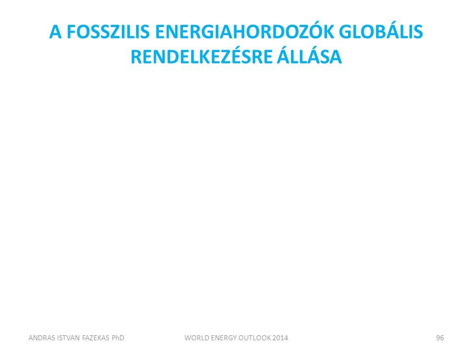A FOSSZILIS ENERGIAHORDOZÓK GLOBÁLIS RENDELKEZÉSRE ÁLLÁSA ANDRAS ISTVAN FAZEKAS PhDWORLD ENERGY OUTLOOK 201496