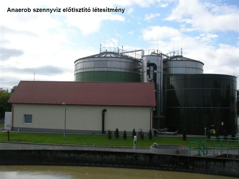 Anaerob szennyvíz előtisztító létesítmény