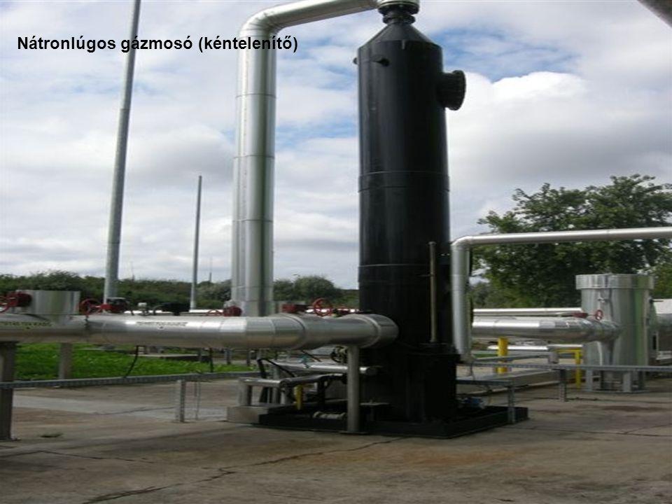 Nátronlúgos gázmosó (kéntelenítő)
