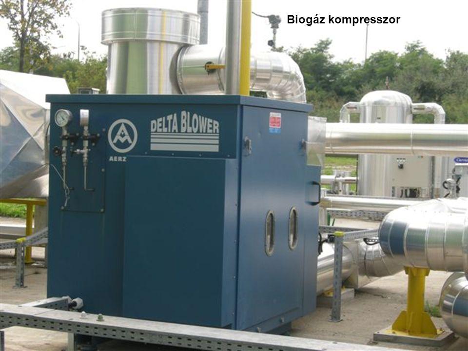 Biogáz kompresszor