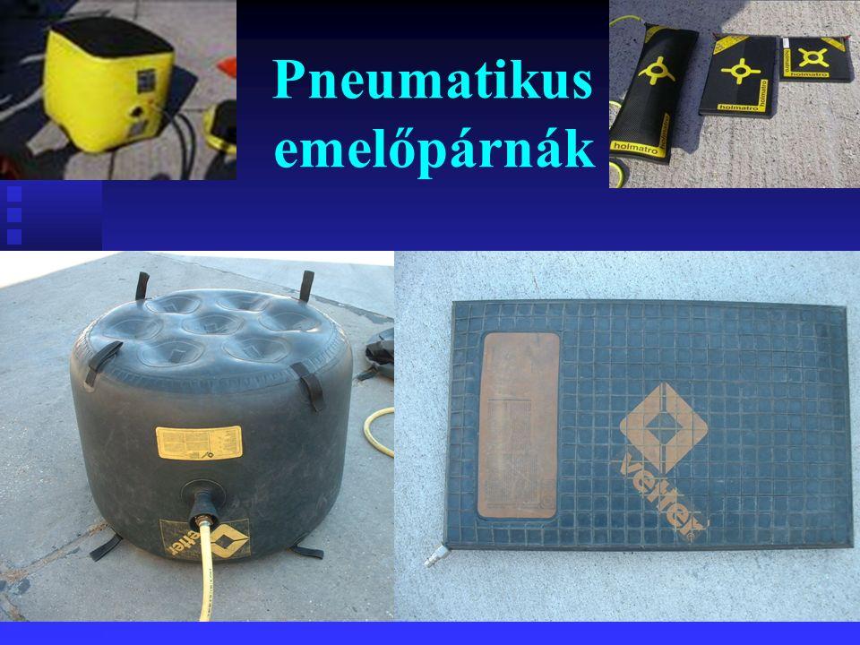 Pneumatikus emelőpárnák