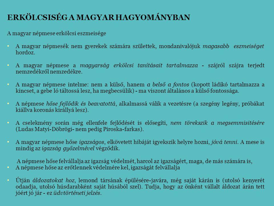A magyar nemzetnek milyen feltételek mellett lehetne legnagyobb az erőtápláléka.