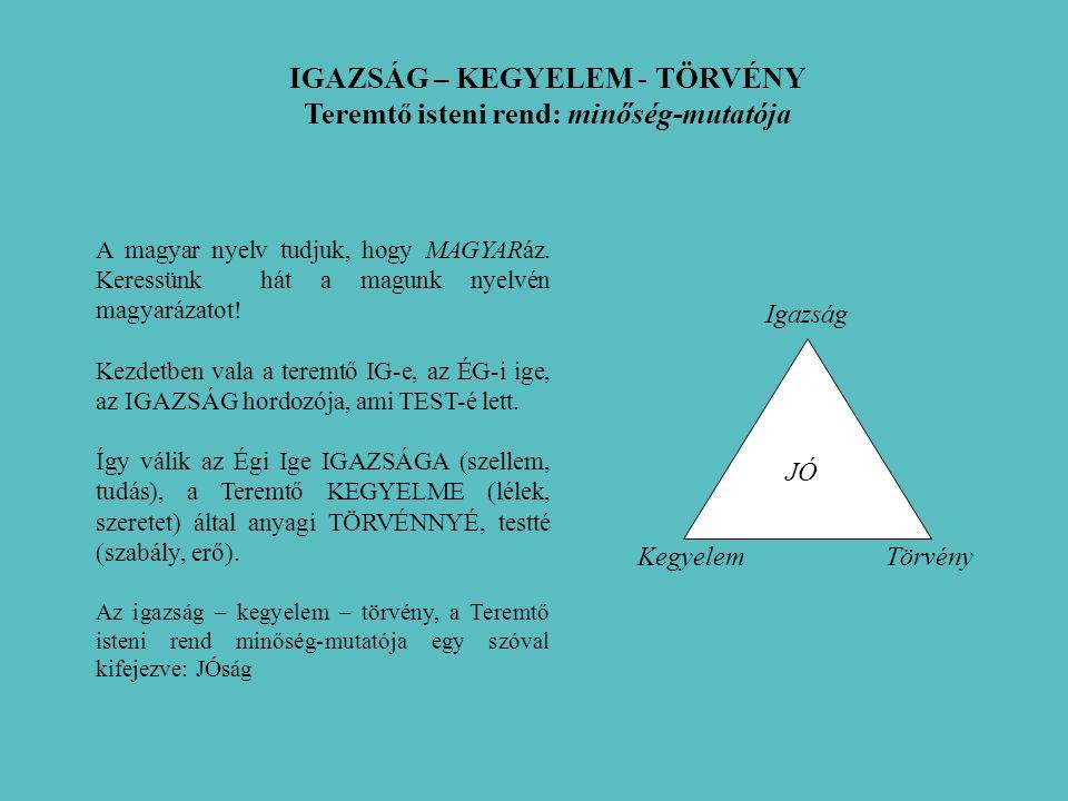 A magyar nyelv tudjuk, hogy MAGYARáz. Keressünk hát a magunk nyelvén magyarázatot.