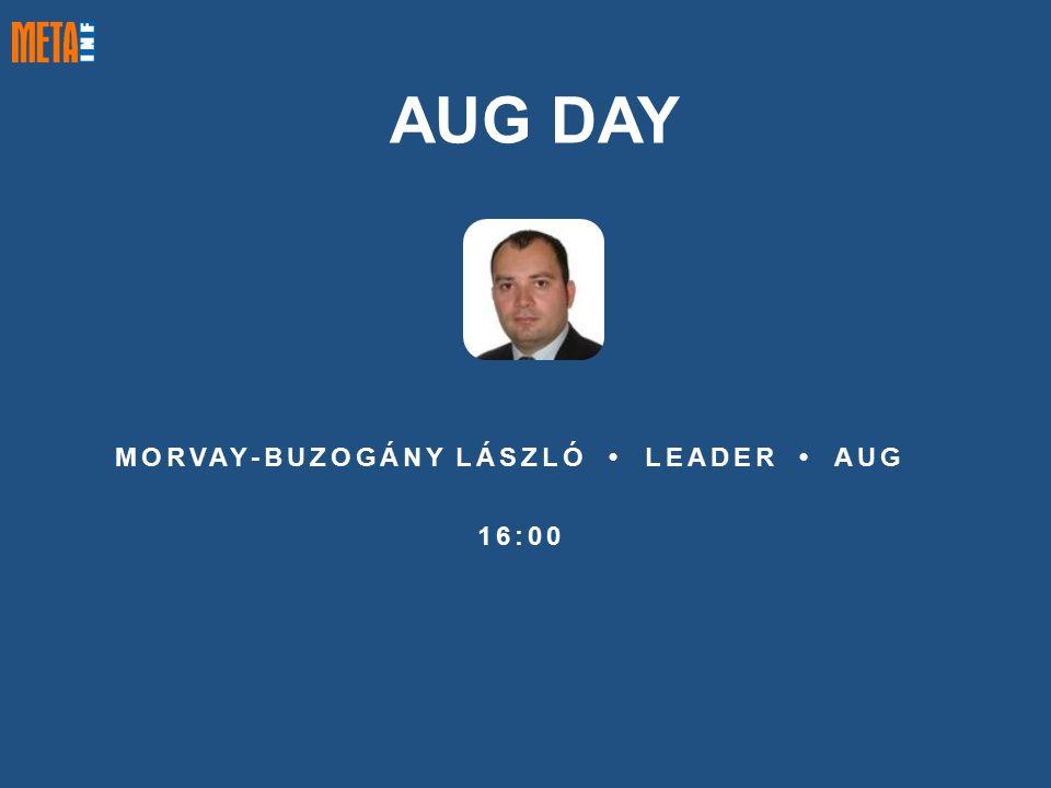 MORVAY-BUZOGÁNY LÁSZLÓ LEADER AUG 16:00 AUG DAY