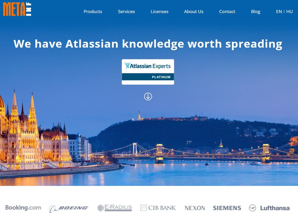 HTTP://WWW.MEETUP.COM/MAGYAR-ATLASSIAN-MEETUP/ TALÁLKOZÓK 3 HAVONTA ~300 TAG