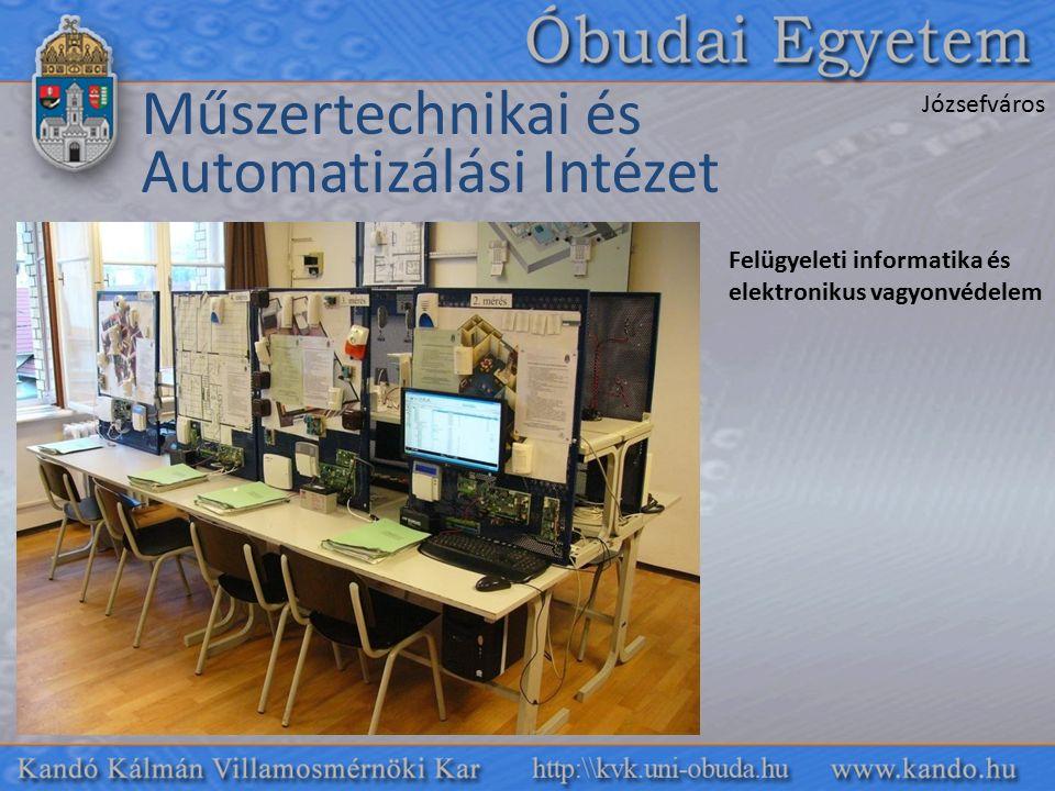 Felügyeleti informatika és elektronikus vagyonvédelem Műszertechnikai és Automatizálási Intézet Józsefváros