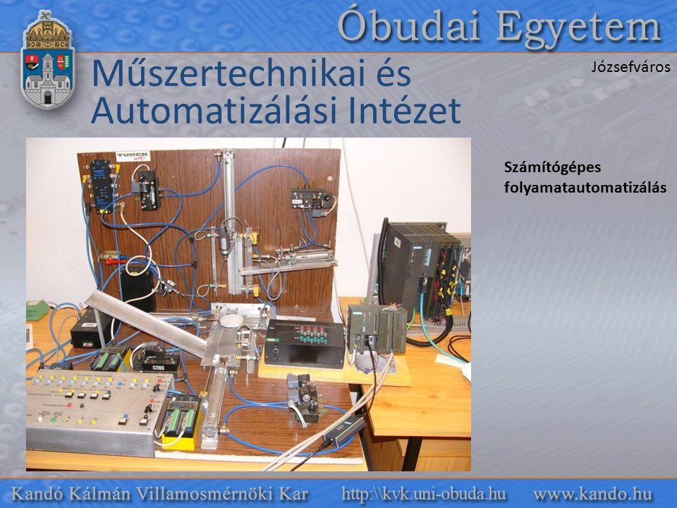 Műszertechnikai és Automatizálási Intézet Józsefváros Számítógépes folyamatautomatizálás