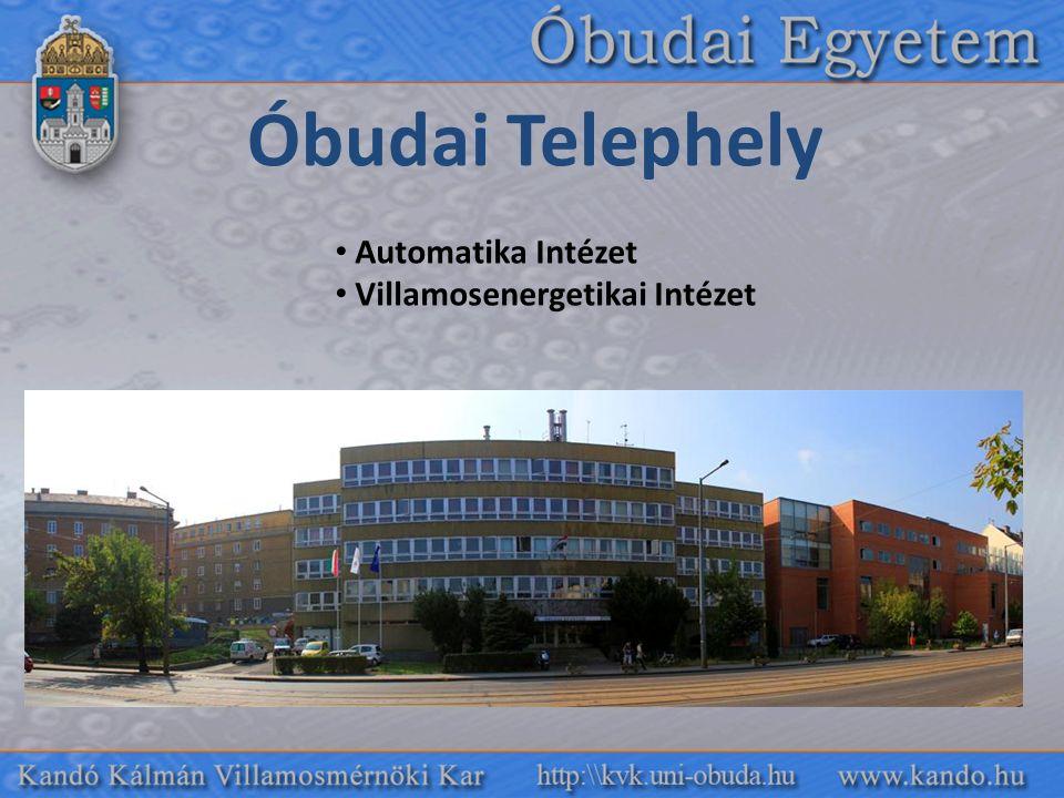 Óbudai Telephely Automatika Intézet Villamosenergetikai Intézet
