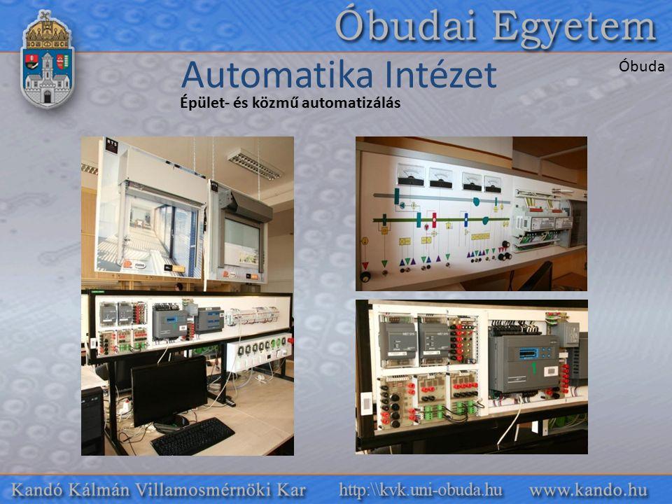 Automatika Intézet Óbuda Épület- és közmű automatizálás