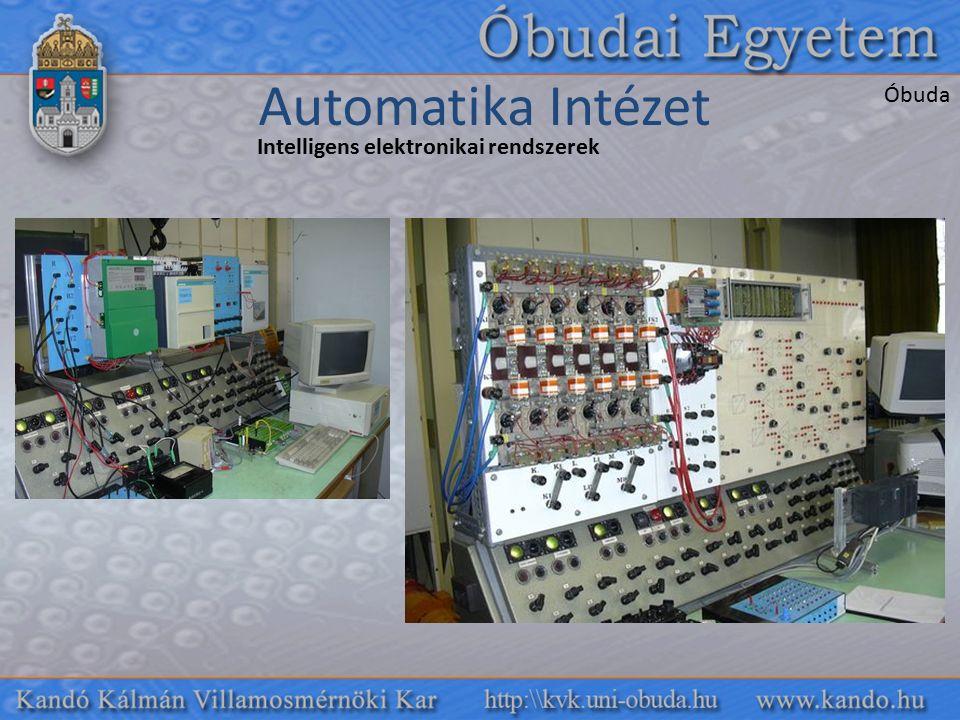 Intelligens elektronikai rendszerek Automatika Intézet Óbuda