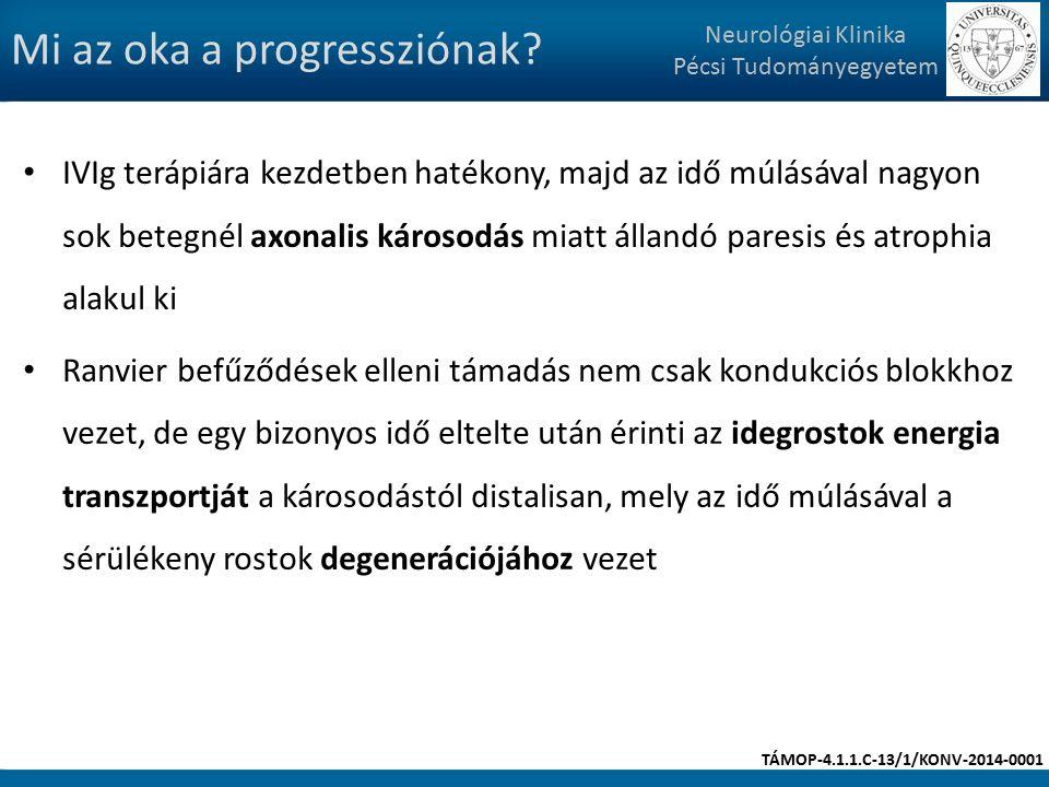 Mi az oka a progressziónak.