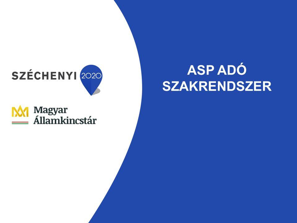 ASP ADÓ SZAKRENDSZER
