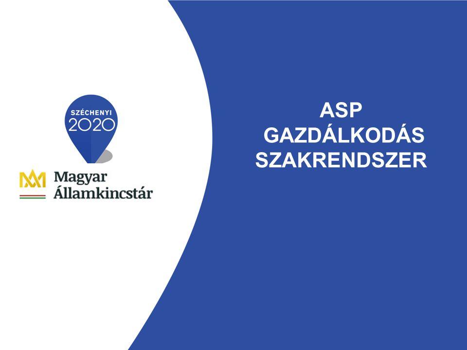 ASP GAZDÁLKODÁS SZAKRENDSZER
