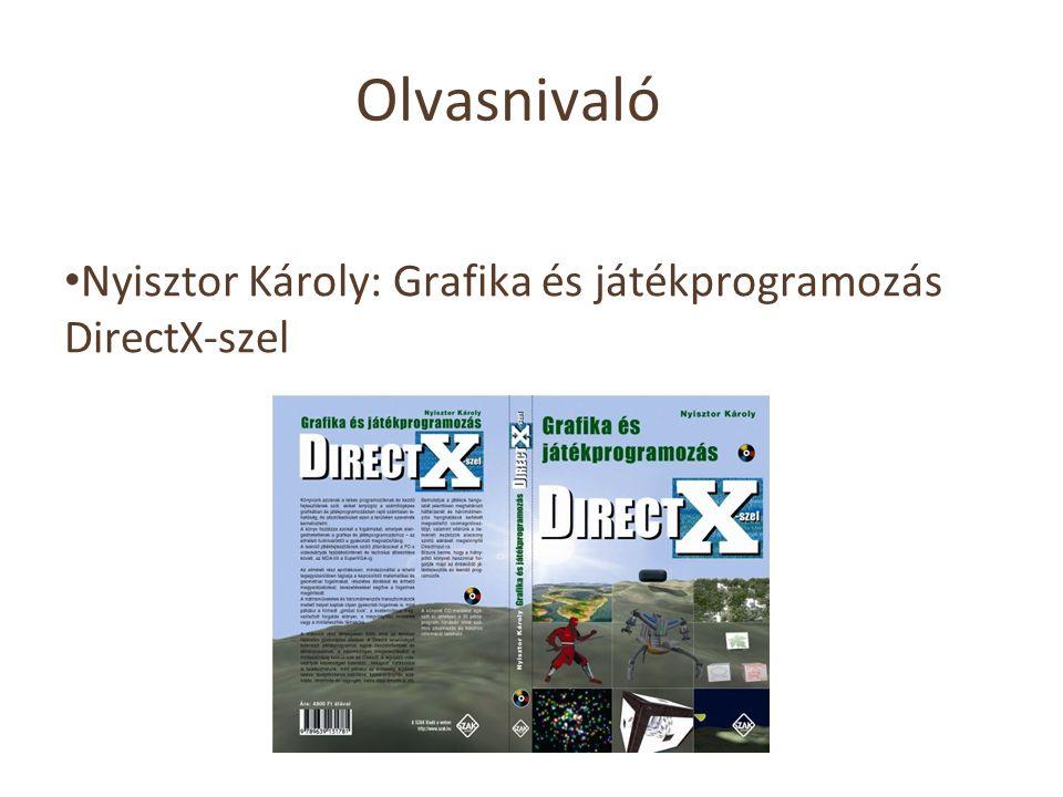 Olvasnivaló Nyisztor Károly: Grafika és játékprogramozás DirectX-szel