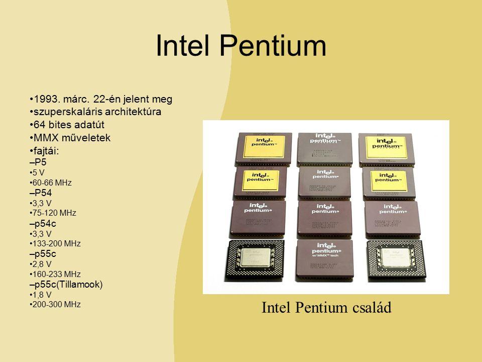 Intel Pentium 1993. márc.