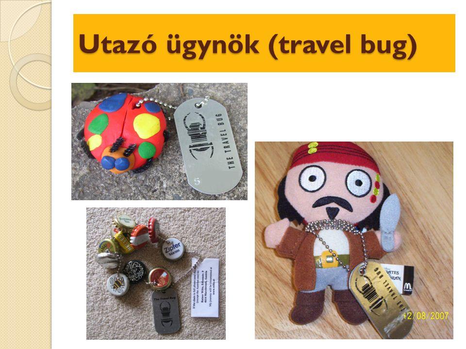 Utazó ügynök (travel bug)