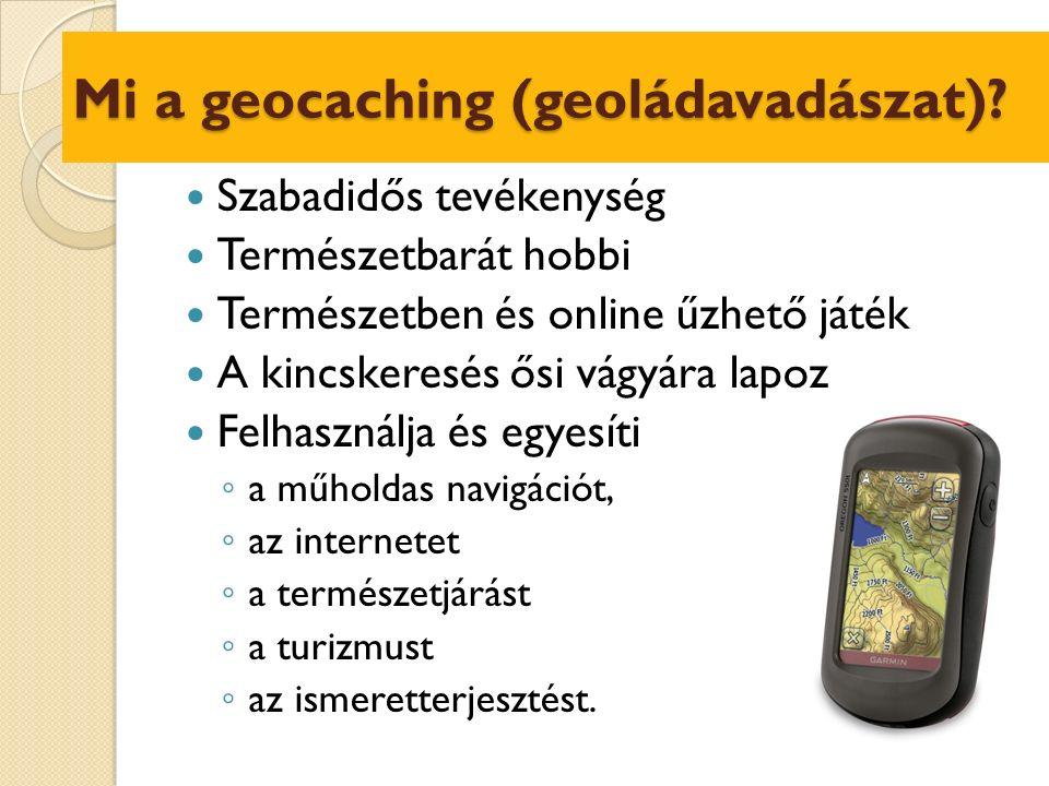 A geoládák közzététele I.