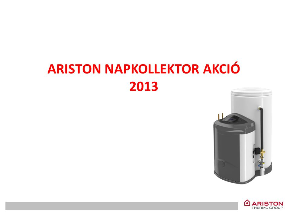 Az Ariston Thermo Hungária Kft 2013-ban is bemutatja napkollektor akcióját.