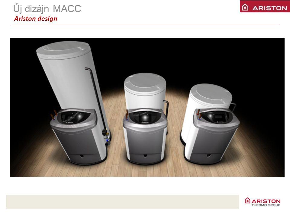 Új dizájn MACC Ariston design