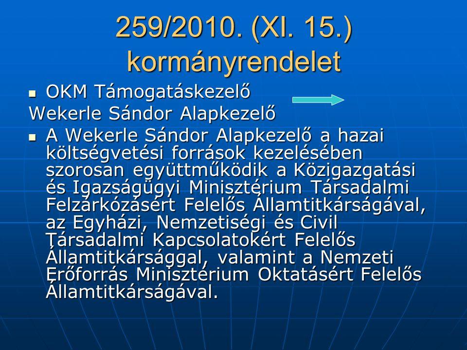 259/2010.(XI.