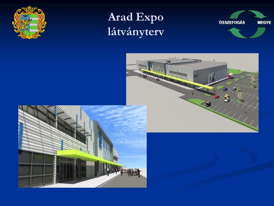 ÖSSZEFOGÁSMEGYE Arad Expo látványterv