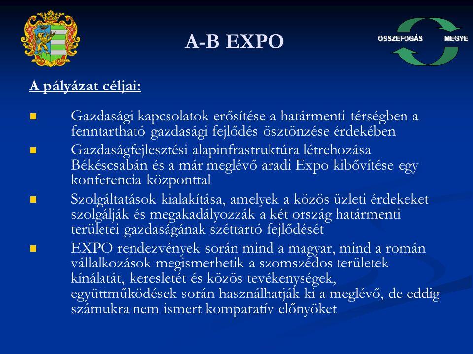 ÖSSZEFOGÁSMEGYE Békés Expo látványterv