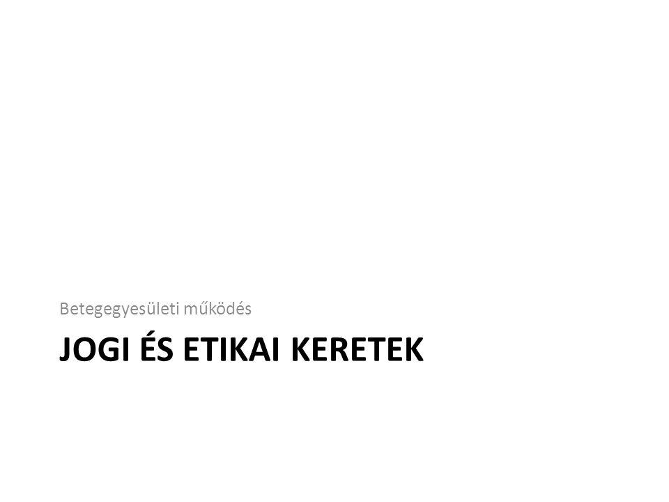 Keretek: 1.European Federation of Industries and Associations (EFPIA) kódex 2.Gyftv.
