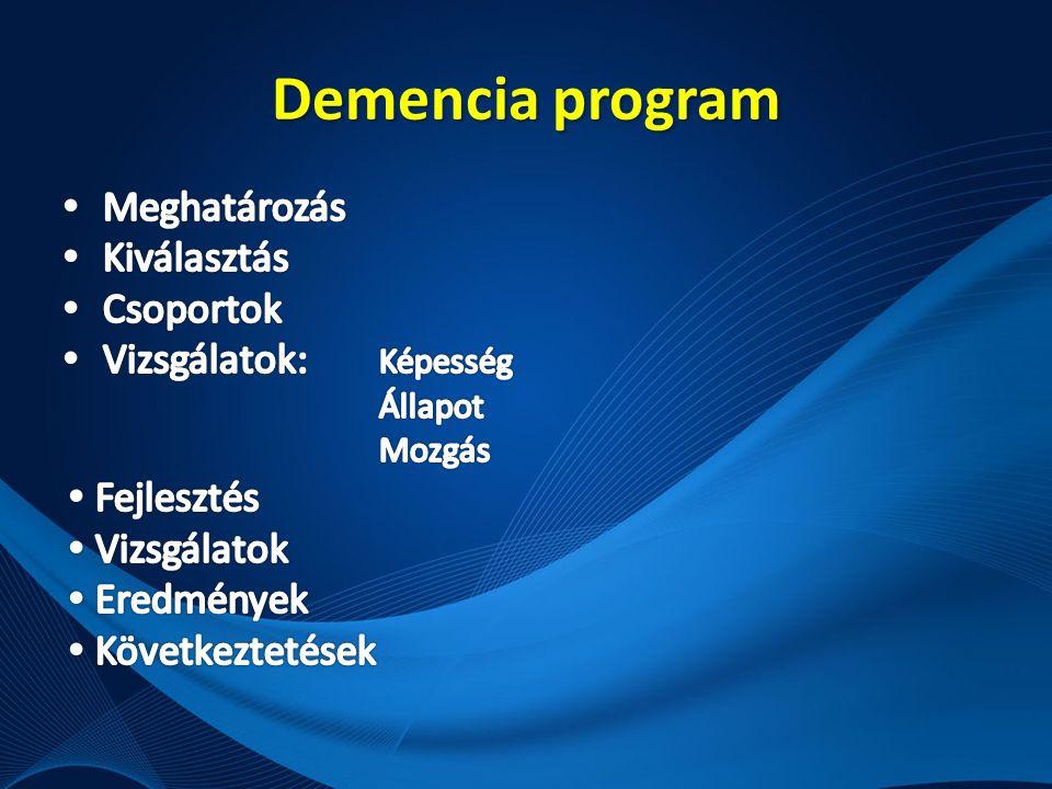 Demencia program