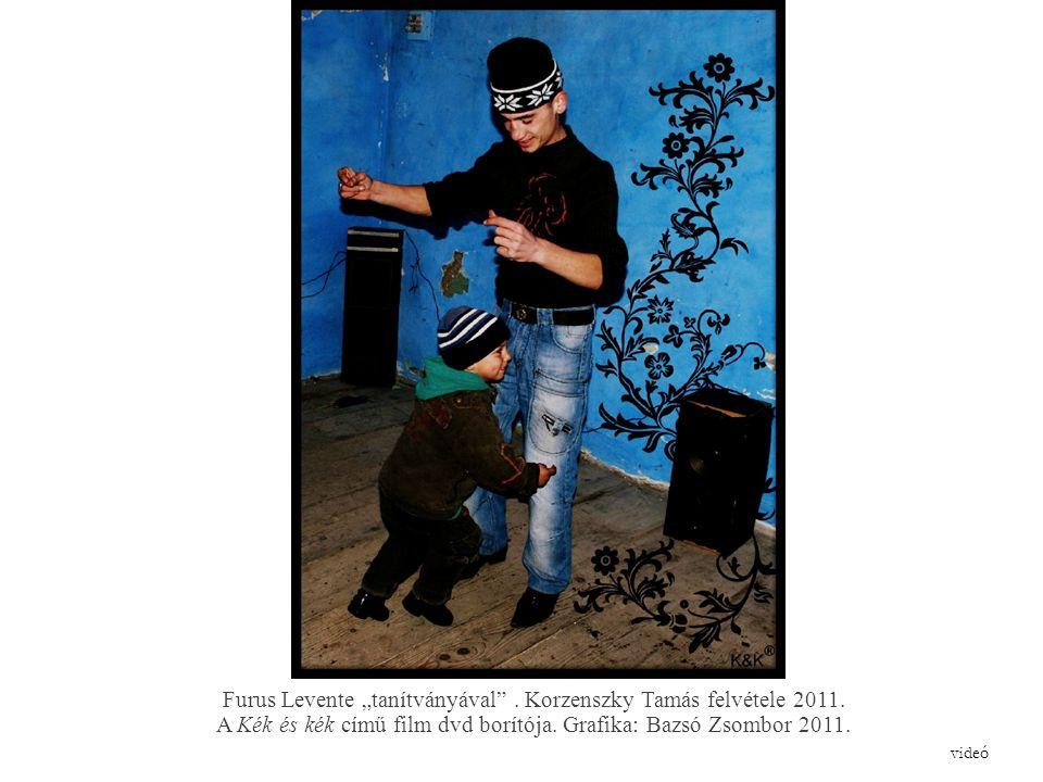 """Furus Levente """"tanítványával . Korzenszky Tamás felvétele 2011."""