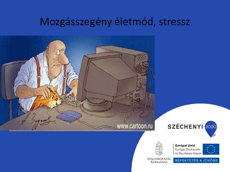 Mozgásszegény életmód, stressz
