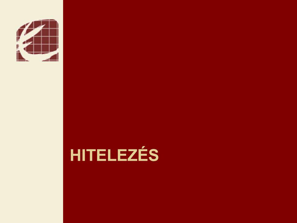 HITELEZÉS