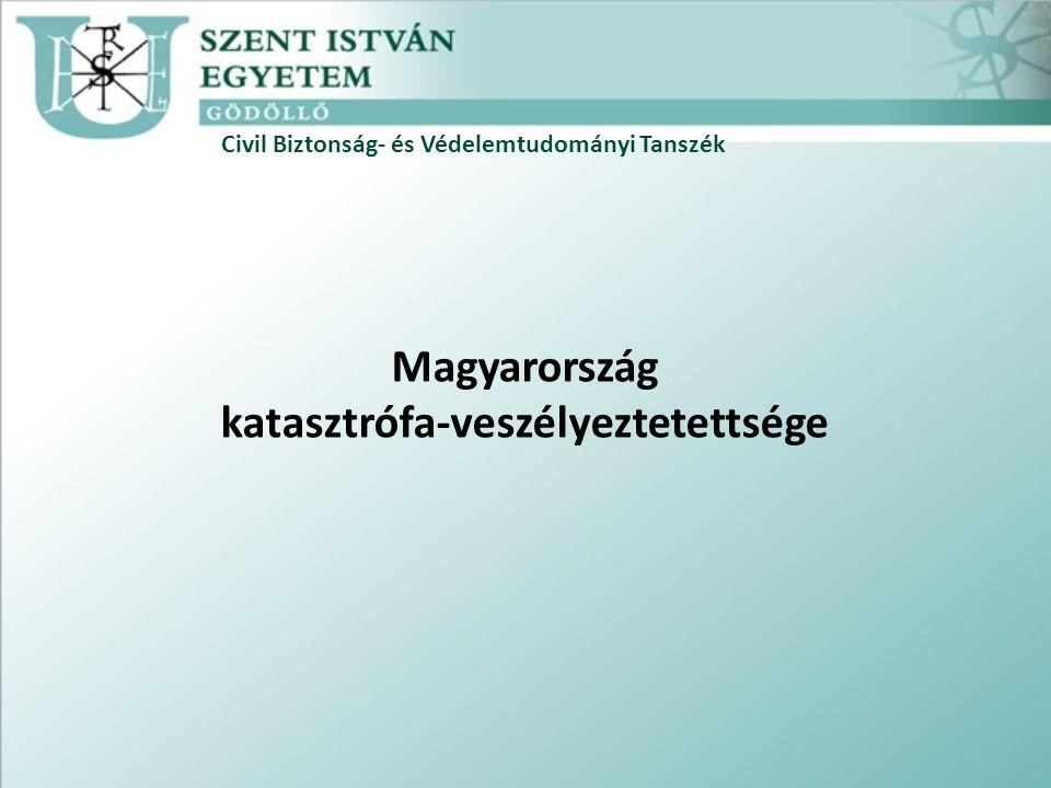 Civil Biztonság- és Védelemtudományi Tanszék Magyarország katasztrófa-veszélyeztetettsége