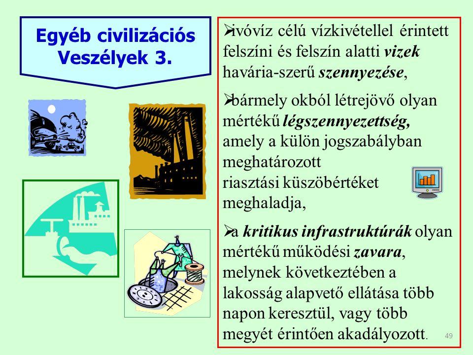 49 Egyéb civilizációs Veszélyek 3.