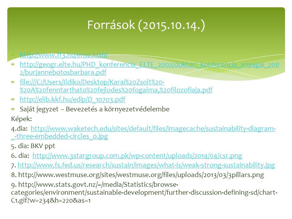  http://www.ff3.hu/ensz.html http://www.ff3.hu/ensz.html  http://geogr.elte.hu/PHD_konferencia_ELTE_2002/doktori_konferencia_anyagai_200 2/burjanneb