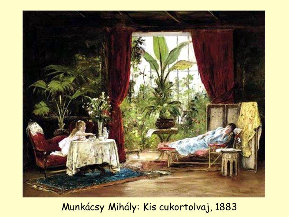 Munkácsy Mihály: Kis cukortolvaj, 1883