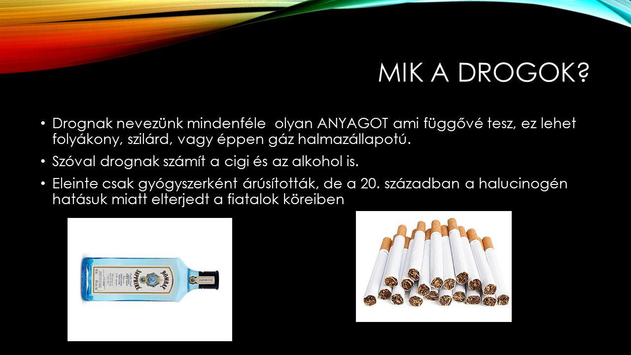 MIK A DROGOK.