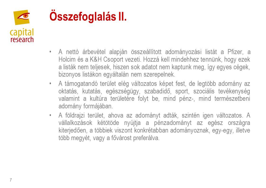 7 Összefoglalás II.