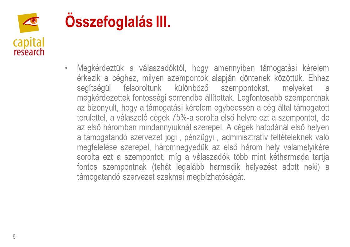 8 Összefoglalás III.