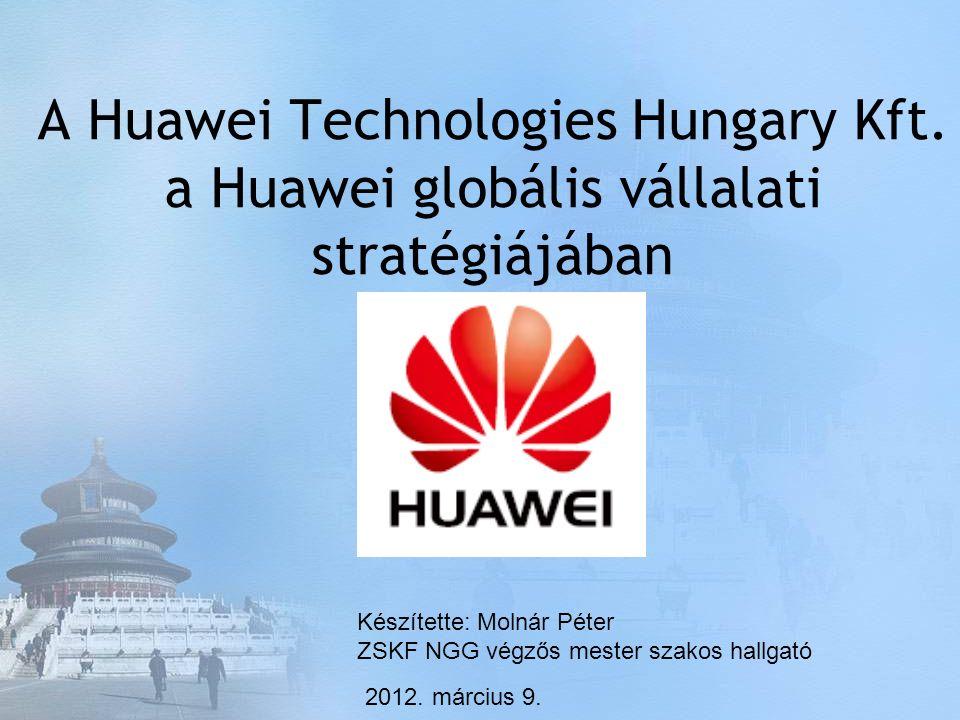 A Huawei Technologies Hungary Kft.