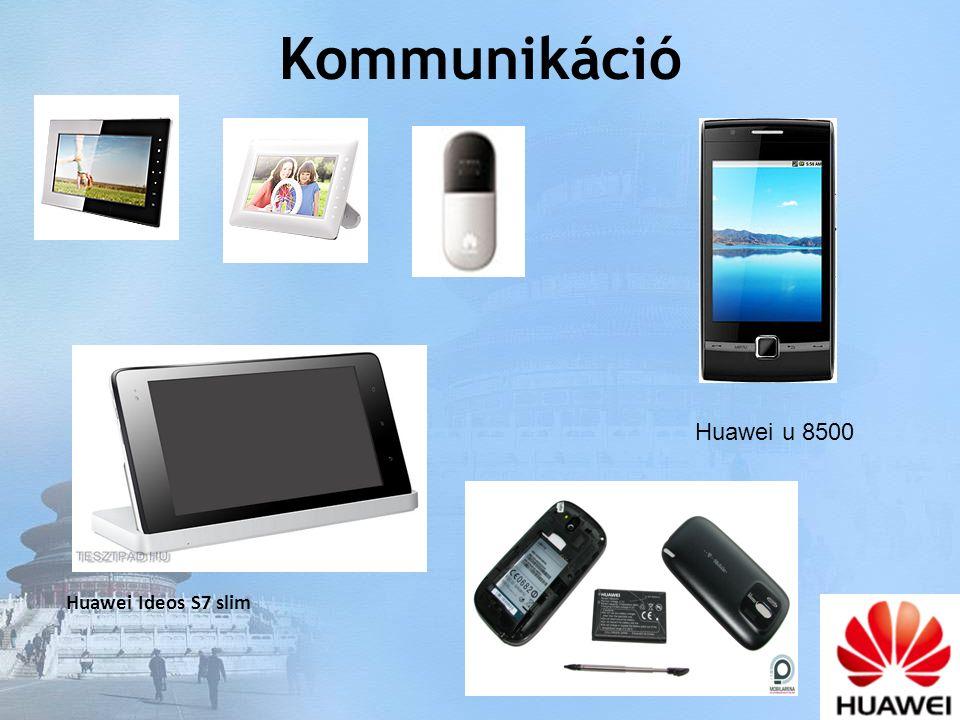 Kommunikáció Huawei u 8500 Huawei Ideos S7 slim