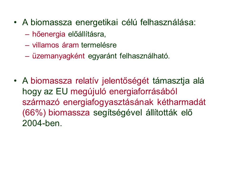 A biogáz előállítására alkalmas alapanyagok: –cukorrépa-feldolgozás melléktermékei –növényi palántamaradványok, –néhány fűféle.