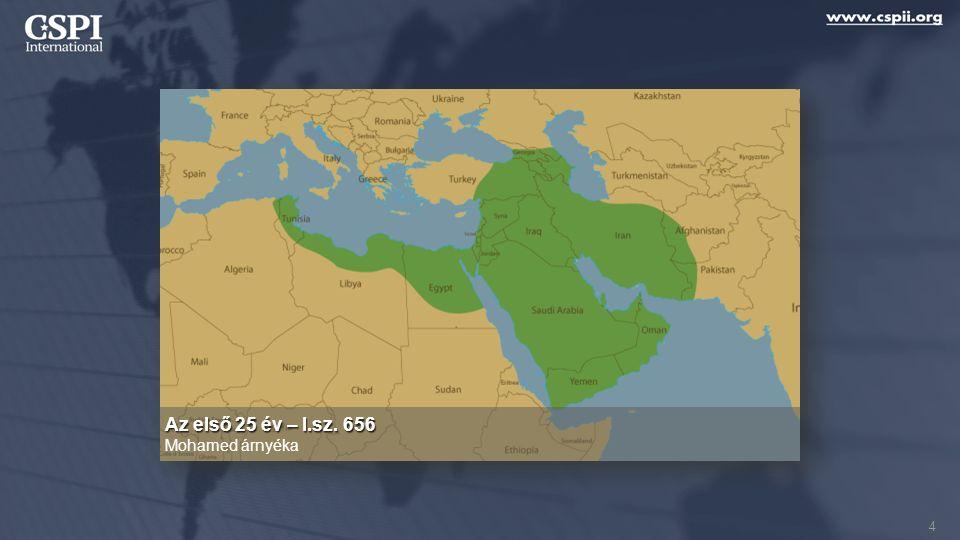 Konklúzió Az iszlám befolyásol egy viharvert és kétségbeesett egyházat 65