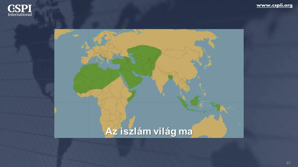Az iszlám világ ma 40