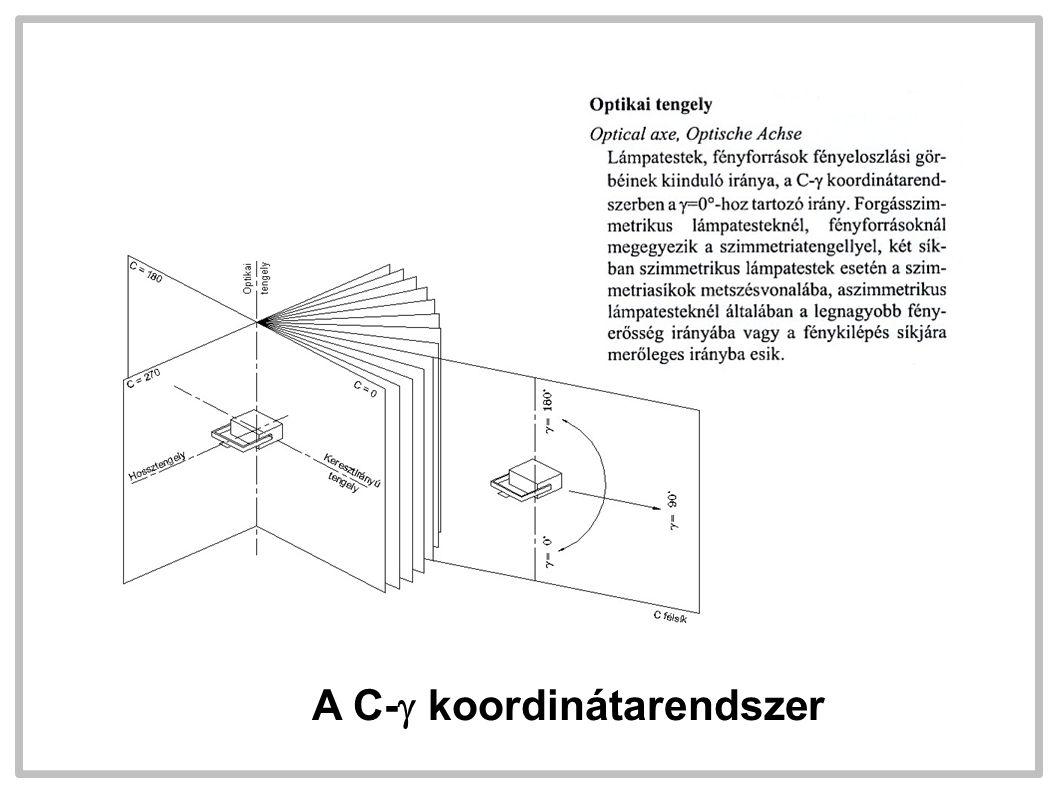 A C-  koordinátarendszer