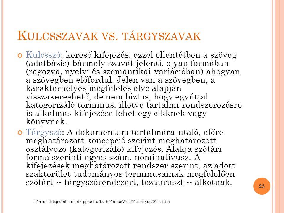 K ULCSSZAVAK VS.